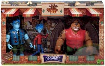 2分の1の魔法 イアン、バーリー、マンティコア(コーリー) 3点セット アクションフィギュア マテル社 ディズニー/ピクサー Onward Manticore's Tavern Quest Pack