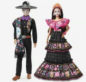 バービー&ケン ディア・デ・ムエルトス ドール 死者の日 2021 ドール 人形 2点セット Barbie & Ken Dia De Muertos Dolls