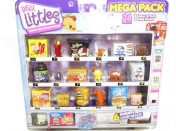 ShopKins Real Littles Mega Pack 26 pieces アメリカ 食品 ミニチュアフィギュア セット Pop tarts