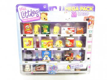 ShopKins Real Littles Mega Pack 26 pieces アメリカ 食品 ミニチュアフィギュア セット ケロッグ トニー・ザ・タイガー