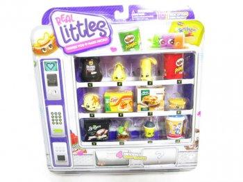 ShopKins Real Littles Mega Pack 16 pieces アメリカ 食品 ミニチュアフィギュア セット マリーカレンダー