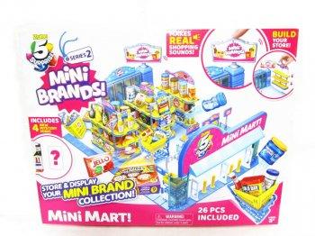 5 サプライズ シリーズ 2 ストアディスプレイ ショッピングサウンド付き 食品ミニチュアフィギュア付き A1ステーキーソース 5 Surprise Mini Brands! Mini Mart!