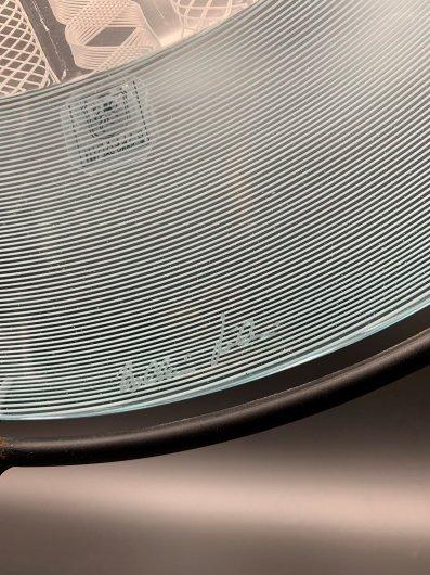ガラス器/ザンフィリコ&フィリ/大皿スタンド付AQ