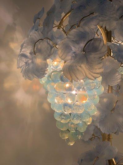 ランプ/ブドウ4房BL