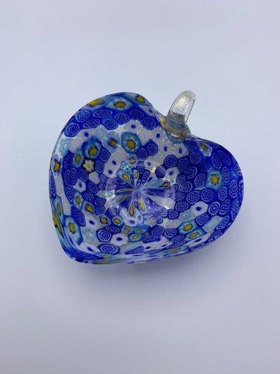 ガラス器/ハート型ムリーナ小鉢L/BL