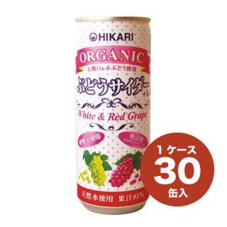 オーガニックぶどうサイダー+レモン(30缶入)
