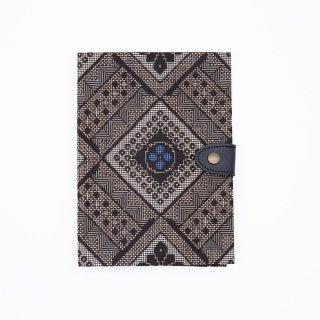 大島紬 | お薬手帳ケース 01