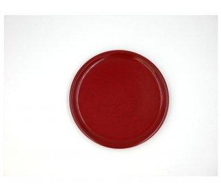 丸皿 後藤塗り 21� 木製 国産 漆塗り