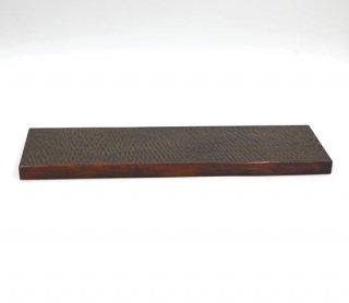 長角トレー 45� ツキ目 木製 国産 漆塗り