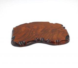 敷板(花台)  27.5� 四国型 木製 国産 漆塗り