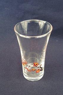 酒器 伊東深水画伯 梅柄付 清酒切り立グラス