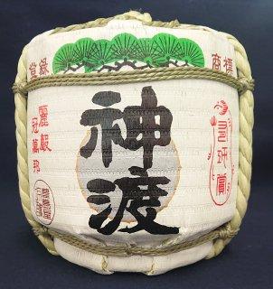 日本酒 豊島屋 神渡 本醸造 豆菰樽 1800ml