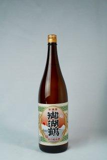 日本酒 諏訪御湖鶴酒造場 御湖鶴 純米酒 辛口 1800ml