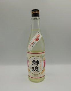 日本酒 豊島屋 神渡 しぼりたて新酒 諏訪乃あらばしり 720ml