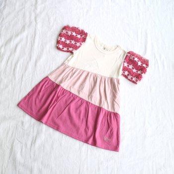 袖レース ワンピース|ピンク|100cm|nino