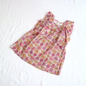 フローラプリントワンピース|ピンク|100-150cm|nino