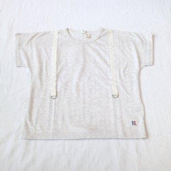 サスペンダーTシャツ|オートミール|レディース|nino