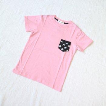 ニットポケット ビッグシルエットTシャツ|ピンク|130-150cm|nino