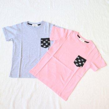 ニットポケット ビッグシルエットTシャツ|杢グレー|レディース|nino