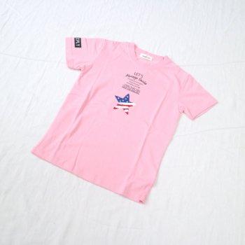 ホシサガラ刺繍入りTシャツ|ピンク|レディース|nino