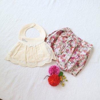 nino-nyan baby gift set スタイ+パンツ|70cm