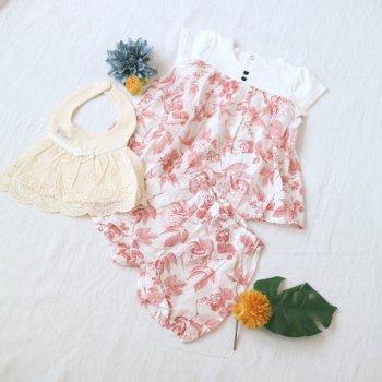 nino-nyan baby gift set スタイ+スーツ|70-80cm