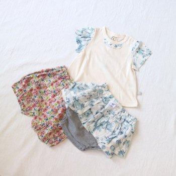 nino-nyan baby gift set パンツ+Tシャツ+パンツ|70-80cm