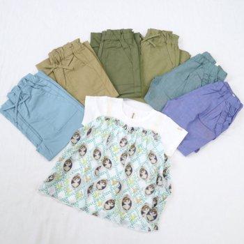 nino【セットアソート販売】Tシャツ+パンツ(アソート)|オフホワイト|90-140cm