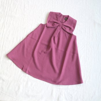 サージ衿付き ジャンスカ|ピンク|90-150cm
