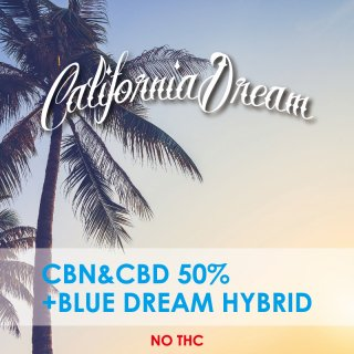 CBD PREMIUM HERB CBD25%+CBN25%+BLUE DREAM TERPEN