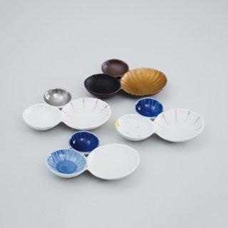 花型三種皿(4柄)