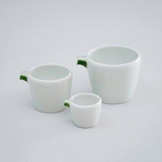 緑赤十草 片口筒鉢(3サイズ)