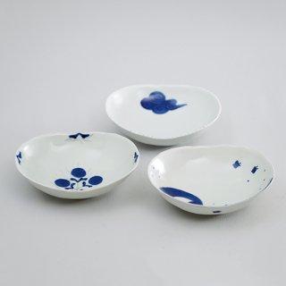 5寸小判薄鉢(3柄)