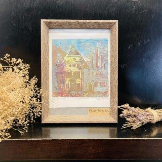 ラトビアの首都リガの街並みの商品画像