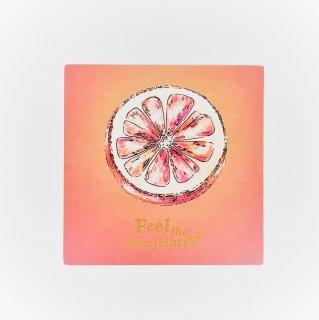 メッセージカード グレープフルーツ Message card Feel the Eternal Beautyの商品画像