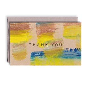 手描きのメッセージカード[ゴッホ 自画像]S