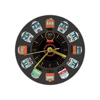 壁掛式アクリル時計「大阪環状線」(全線開業60周年記念バージョン)