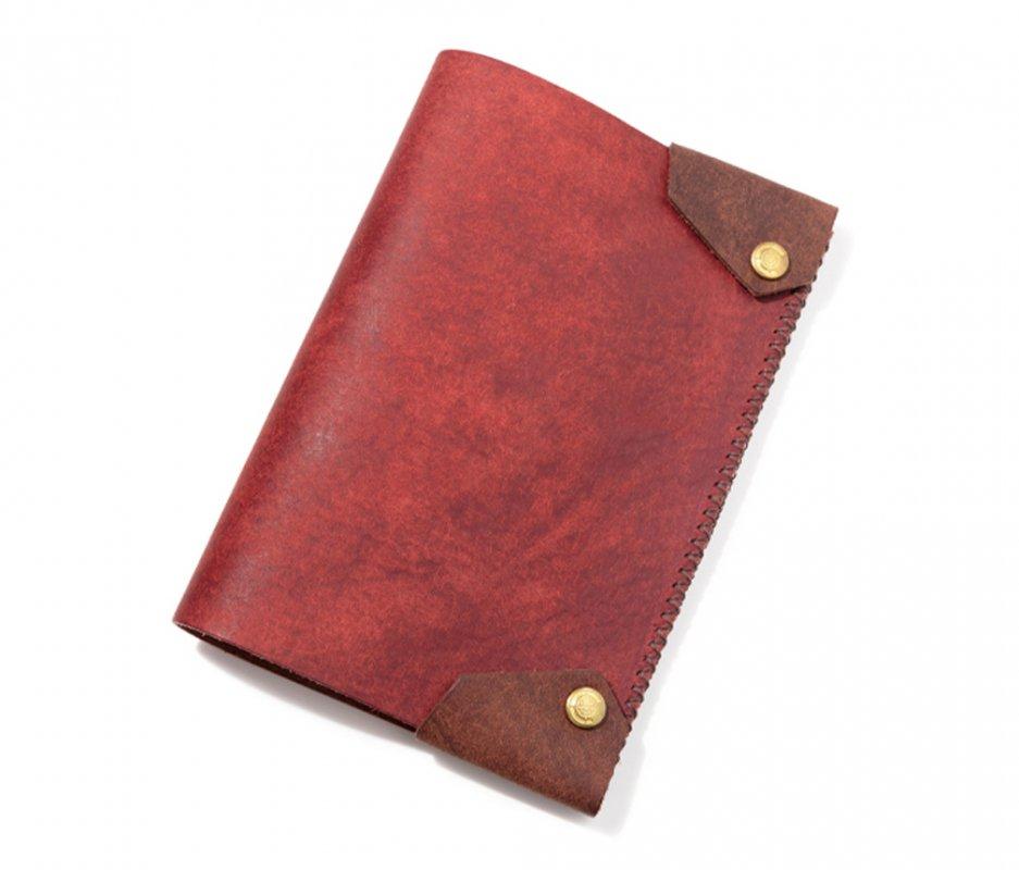 ブックカバー (文庫本サイズ) [レッド] / Book Cover [RED]