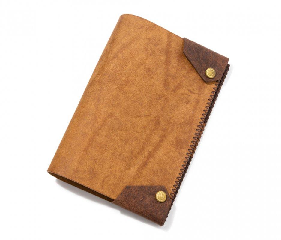 ブックカバー (文庫本サイズ) [キャメル] / Book Cover [CAMEL]