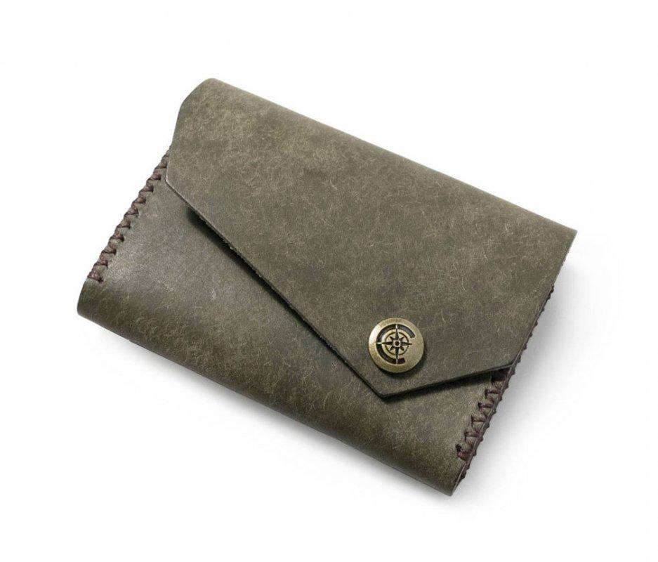 ワイドカードケース [カーキ] / Wide Card Case [KAHKI]