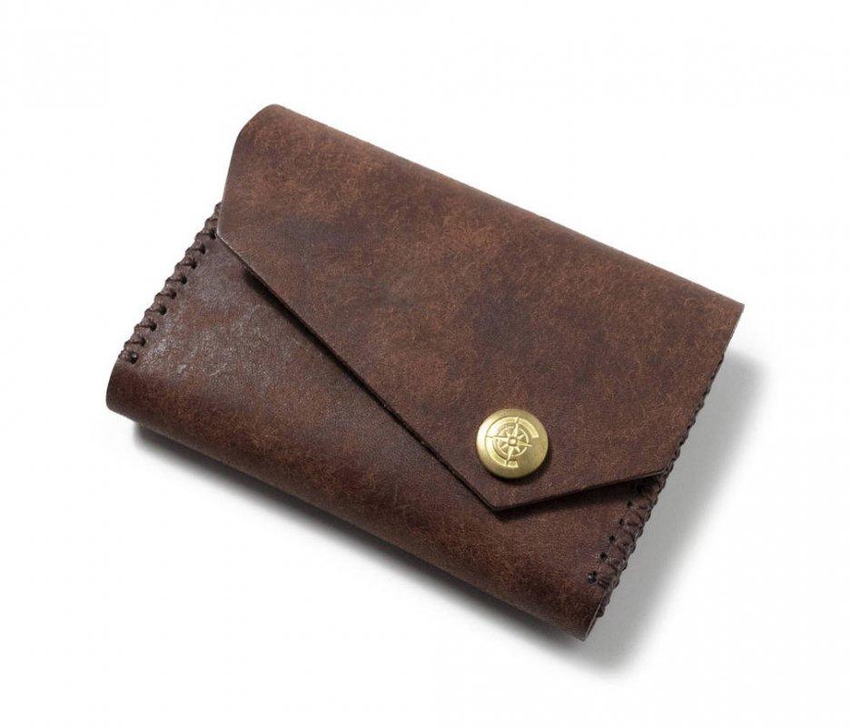 ワイドカードケース [ブラウン] / Wide Card Case [BROWN]