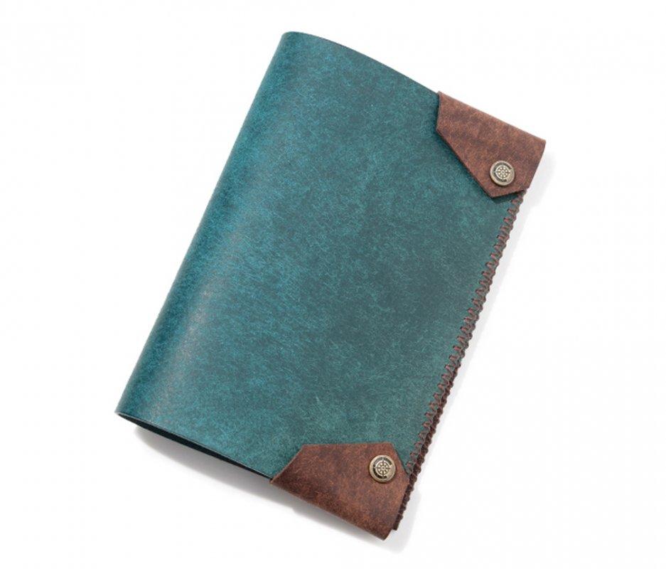 ブックカバー (文庫本サイズ) [ブルー] / Book Cover [BLUE]