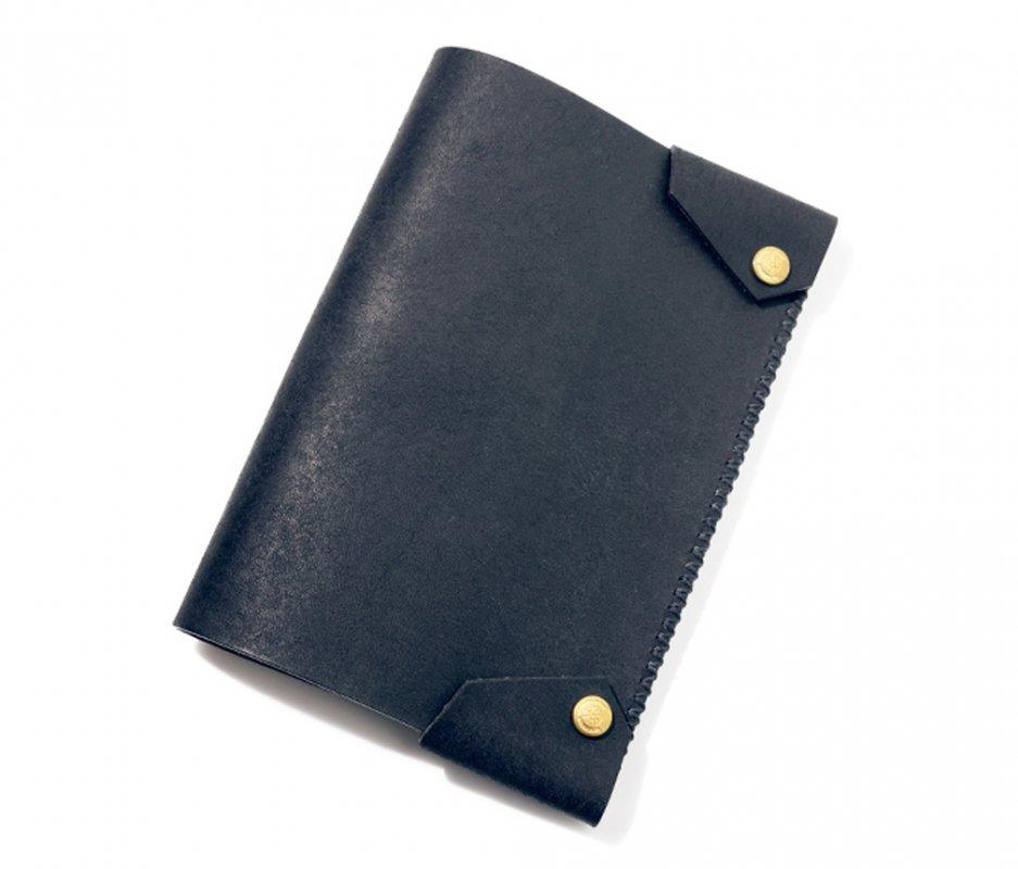 ブックカバー (文庫本サイズ) [ブラック] / Book Cover [BLACK]