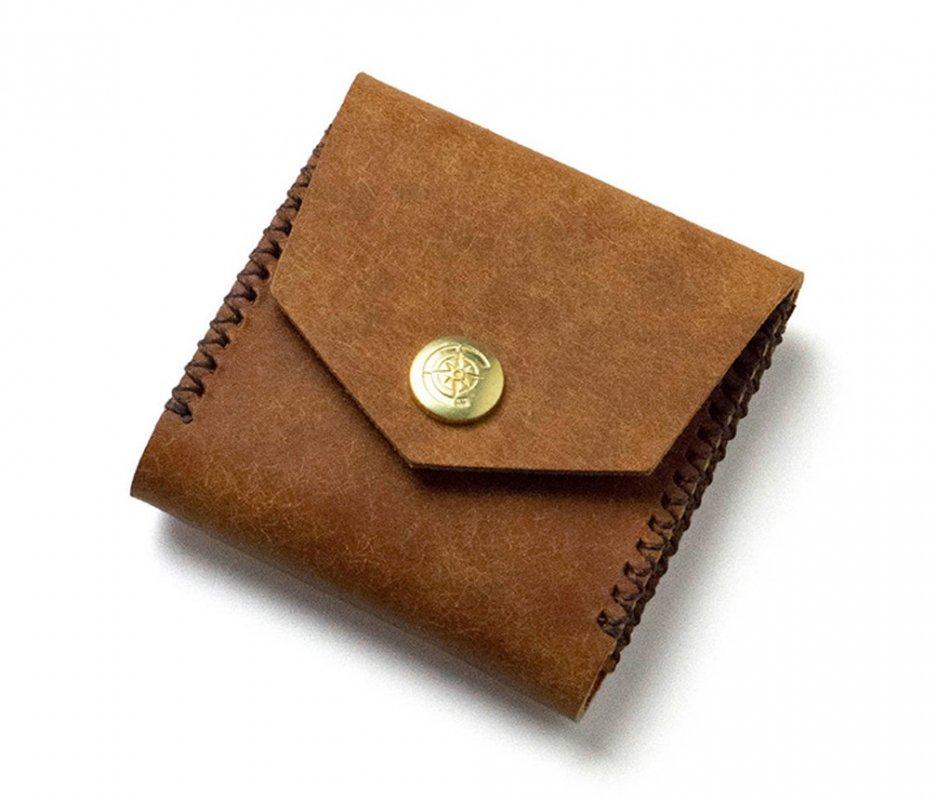 スクエアコインケース [キャメル] / Square Coin Case [CAMEL]