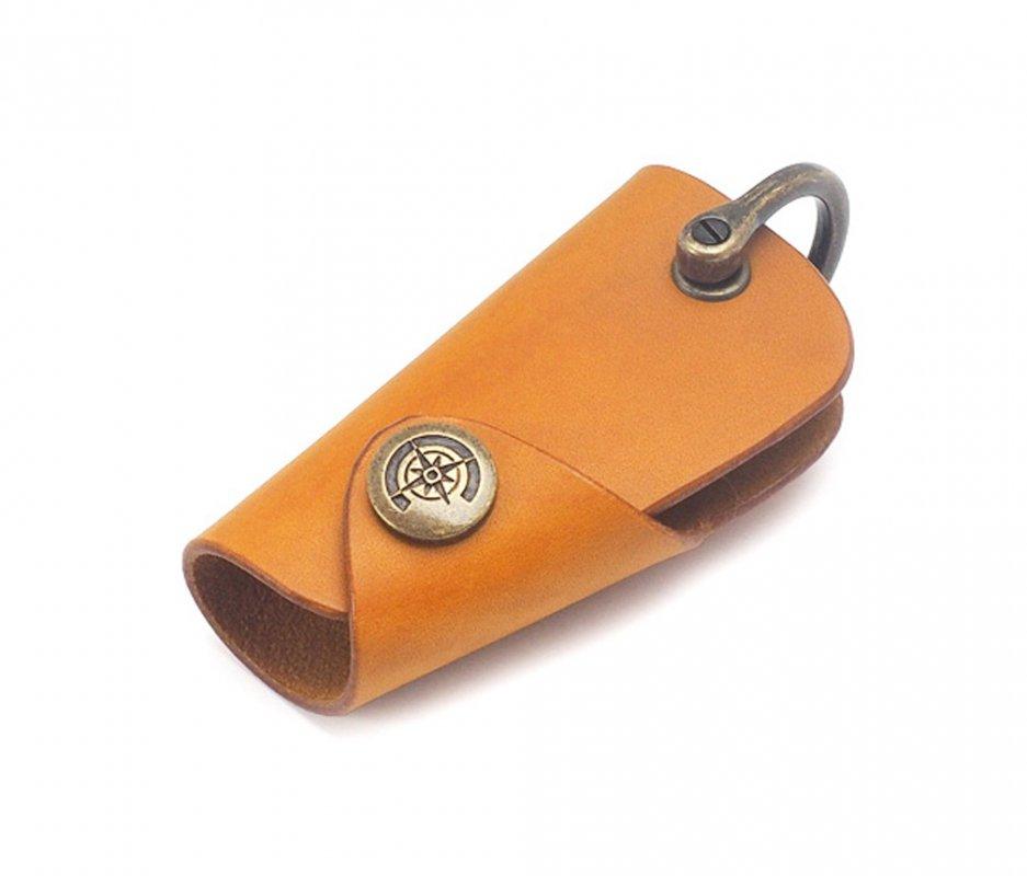 ボタンフックキーケース (リスシオ) [イエロー] / Button Hook Key Case [YELLOW]