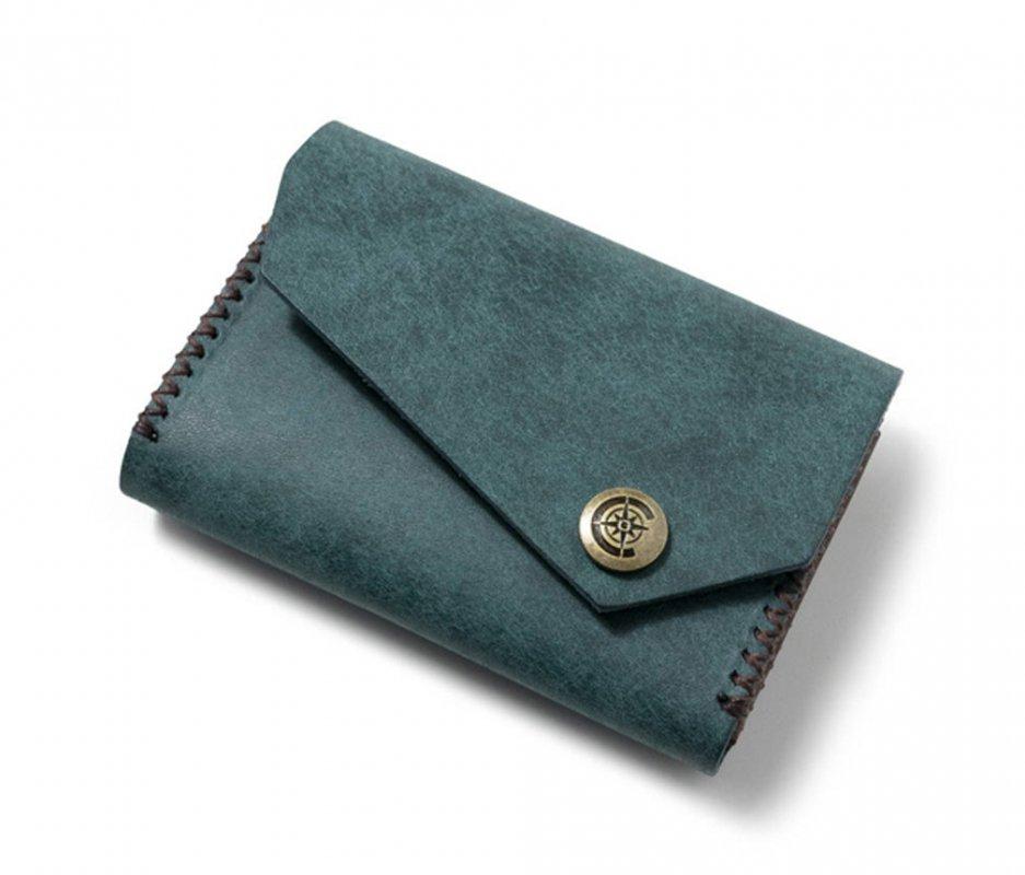 ワイドカードケース [ブルー] / Wide Card Case [BLUE]