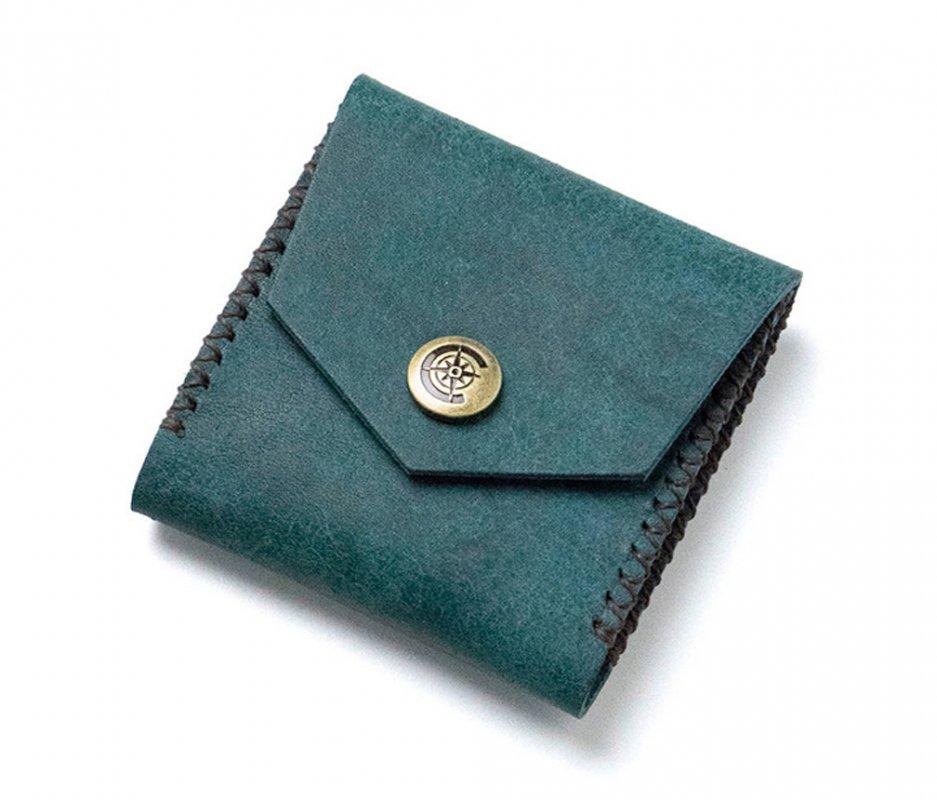 スクエアコインケース [ブルー] / Square Coin Case [BLUE]