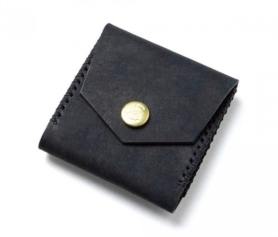 スクエアコインケース [ブラック] / Square Coin Case [BLACK]