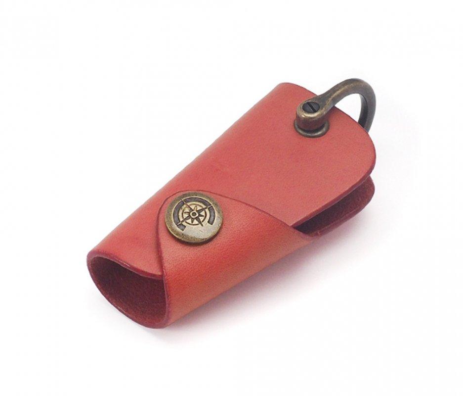 ボタンフックキーケース (リスシオ) [ピンク] / Button Hook Key Case [PINK]