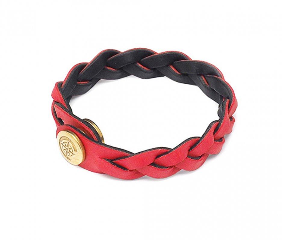 リバーシブルブレスレット [レッド×ブラック] / Reversible Bracelet [RED×BLACK]